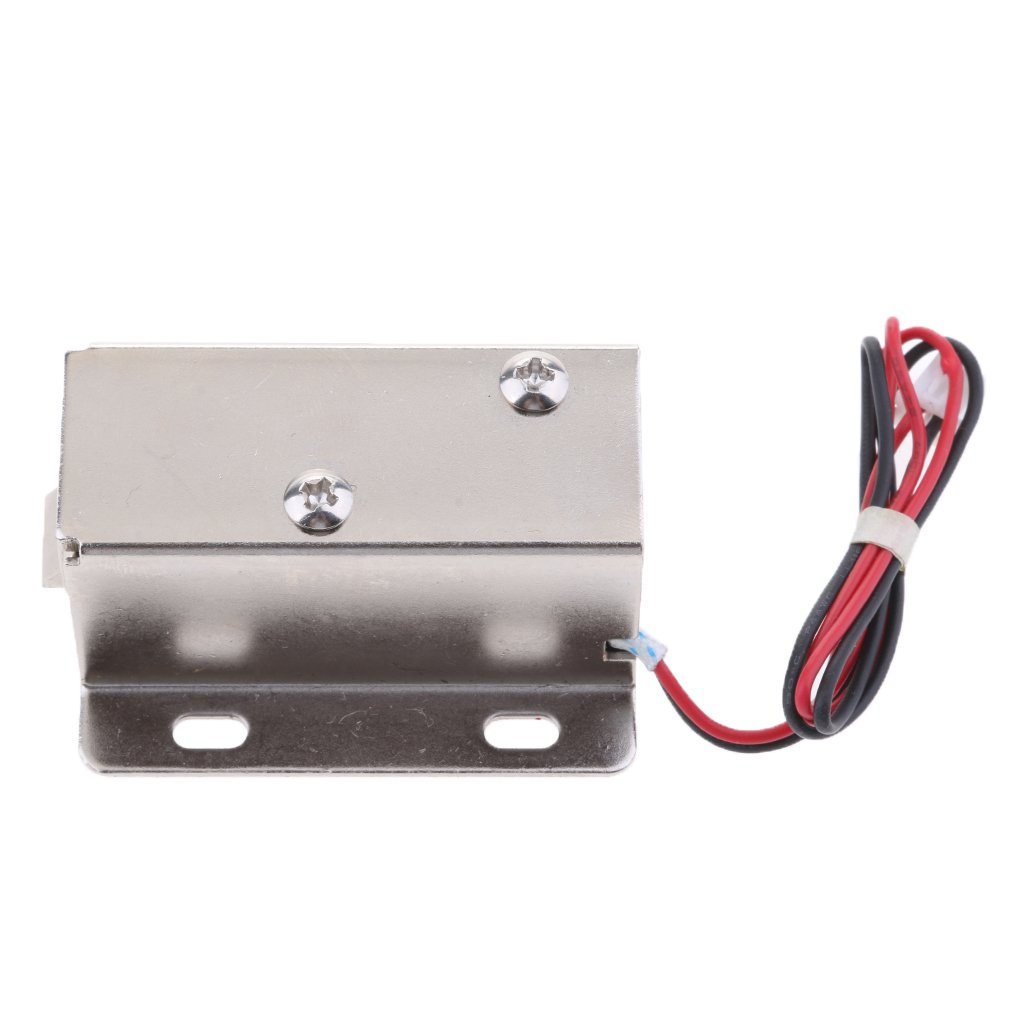 MagiDeal Universal 12V 0.4A Mini Electric Magnetic Electromagnetic Lock Door Gate Access Entry Control by Unknown (Image #1)