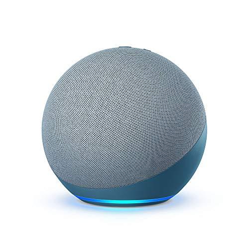 Certified Refurbished Echo (4th Gen) | With premium sound, smart home hub, and Alexa | Twilight Blue