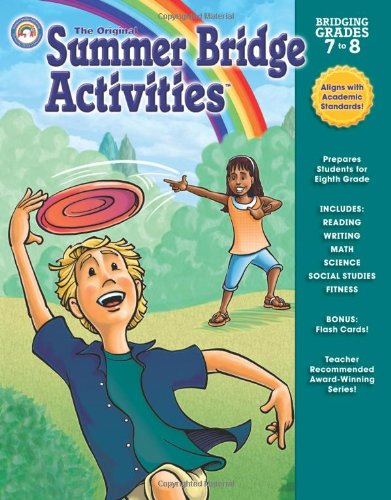 Download Summer Bridge Activities: Bridging Grades 7 to 8 ebook