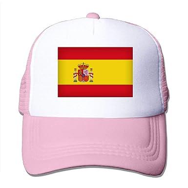 Voxpkrs Spain Flag Art Mesh Trucker Caps/Hats Adjustable for ...