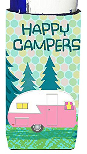 Happy Campers Slim Can Beverage Insulator made our CampingForFoodies hand-selected list of 100+ Camping Stocking Stuffers For RV And Tent Campers!