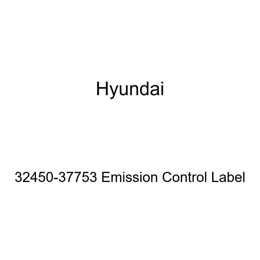 Genuine Hyundai 32450-37753 Emission Control Label