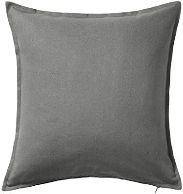 IKEA Gurli - Funda de cojín, gris - 50x50 cm