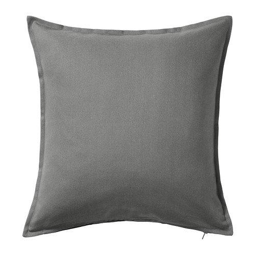 "Ikea Pillow Cover Cushion Sleeve 20 X 20"" Gray Gurli"