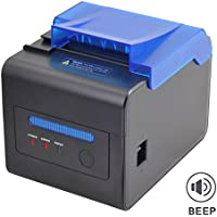 MUNBYN 80mm Thermal Receipt Kitchen Printer USB RS232 LAN 2048KB Bytes to Avoid Order Missing ESC/POS With Order Reminder Waterproof Oilproof