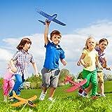 """Toyvian 3 Pack Airplane Toys,14.57"""" Foam Glider"""