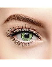 Chromaview Blend Natuurlijk Gekleurde Contactlenzen Zonder Sterkte Groen (30 Dagen)