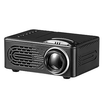 Amazon.com: WEIWEI Mini Proyector, con gran pantalla LED ...