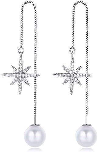 925 Sterling Silber Ohrringe Ohrhänger Durchzieher Traube hochglanz Damen