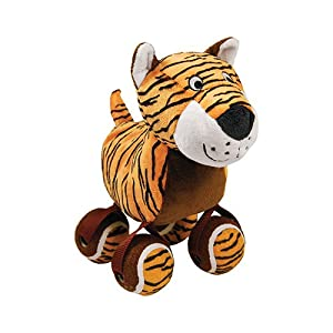 KONG Tennis Shoes Tiger Dog Toy, Large