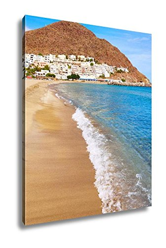 Ashley Canvas Almeria Cabo De Gata San Jose Beach And Village Of Spain, Wall Art Home Decor, Ready to Hang, Color, 20x16, AG6535081 by Ashley Canvas