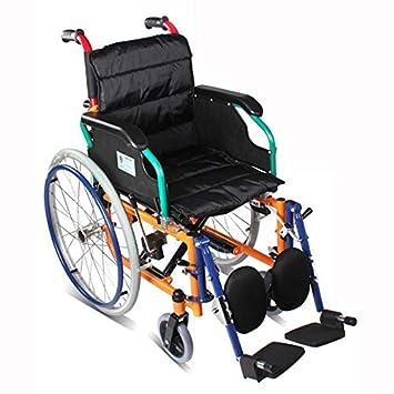 QETU Silla de Ruedas para niños - reposapiés Desmontable - para el Paraplejia, Fractura, minusválidos: Amazon.es: Deportes y aire libre