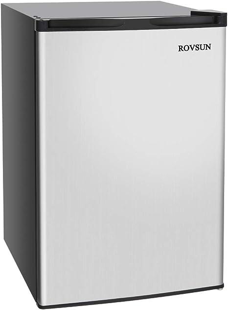 ROVSUN - Congelador vertical con puerta individual reversible de ...