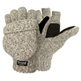 Weatherbeaters Ragg Wool Pop Top Fingerless Glove