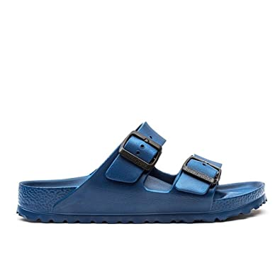 4f864fa47d6 Birkenstock Unisex Arizona Essentials EVA Navy Sandals - 39 N EU   8-8.5  2A(N) US  Buy Online at Low Prices in India - Amazon.in