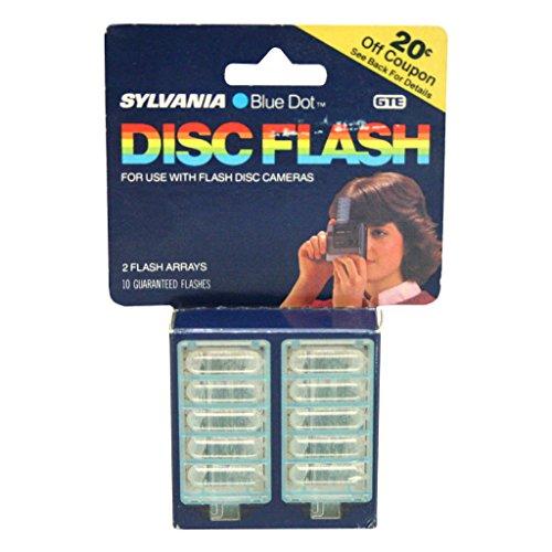 Sylvania 92029 - 2 Arrays Blue Dot Disc Flash (2 pack) (DISC FLASH 2PK)