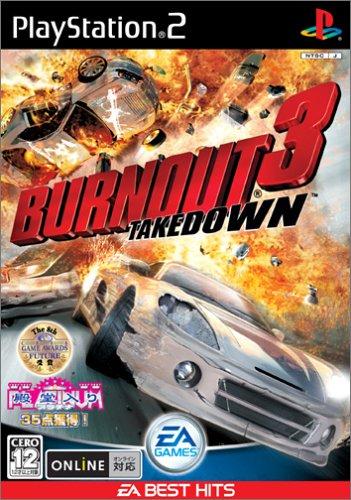 Burnout 3: Takedown (EA Best Hits) [Japan Import] (Burnout Playstation 2)
