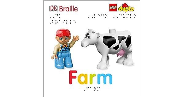 Amazon.com: DK Braille: LEGO DUPLO: Farm (9781465468550 ...