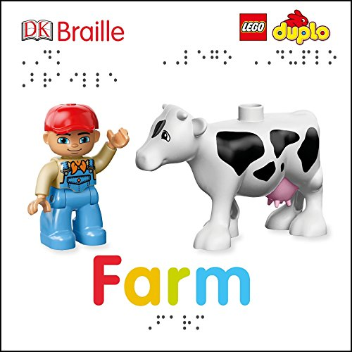DK Braille: LEGO DUPLO: Farm (Toys For The Blind)