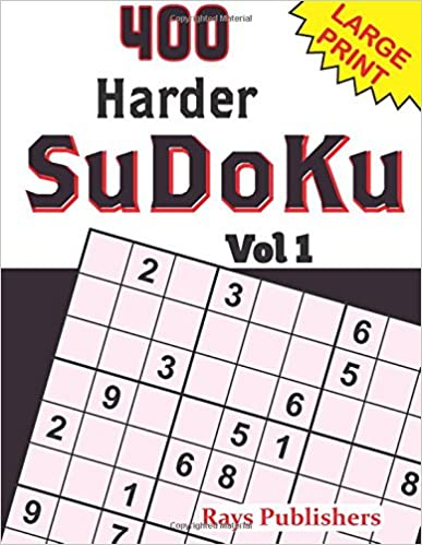 400 Harder SuDoKu Vol 1 (Volume 1)