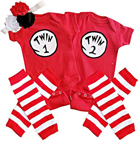 Perfect Pairz Boy Girl Unisex Twin Outfits Twin 1 Twin 2]()