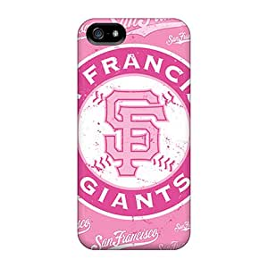 Shock Absorption Hard Cell-phone Cases For Iphone 5/5s With Support Your Personal Customized Stylish San Francisco Giants Skin JonathanMaedel