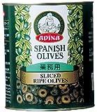 Adina slice ripe olives # 1 2920g