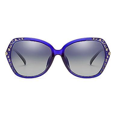 Smileyes Damen Fashion Sonnenbrillen UV400 Retro Vintage Style Unisex #TSGL007 (Violett) QWTmWj