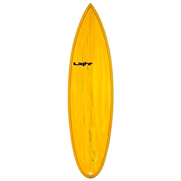 Light Sunset Tabla de Surf Mixta, Sunset, Resin Tint Yellow