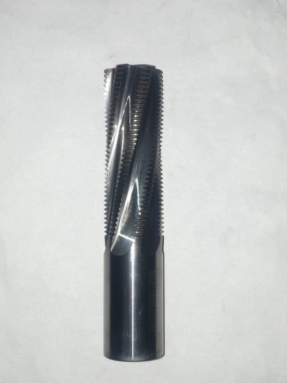 whole teeth 4 flutes ZLT Solid Carbide Thread Mill AlTiN Finish M20X2.5-2D M20