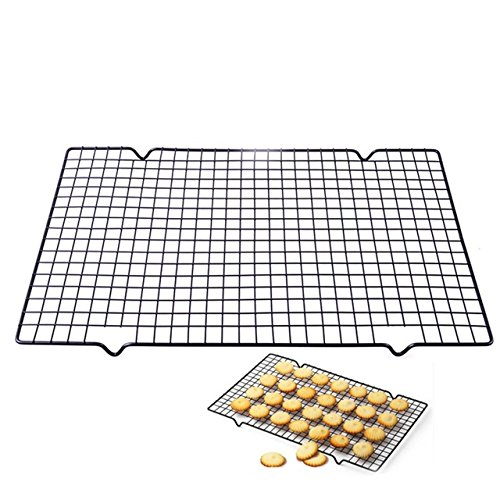 25x40cm Nonstick Cooling Rack Mesh Grid Baking Cookie Biscui