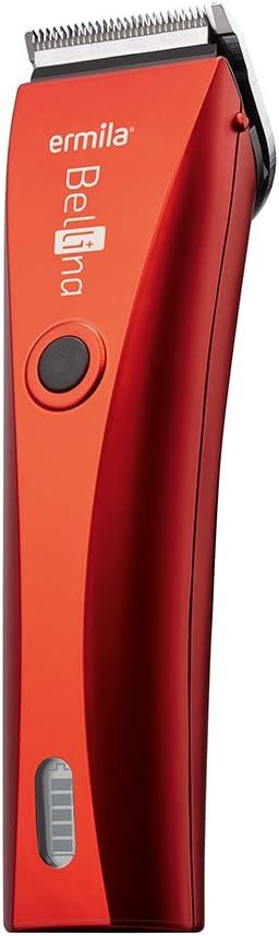 Ermila Bellissima - Cortadora de pelo, color rojo