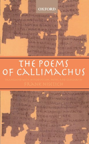 The Poems of Callimachus by Oxford University Press