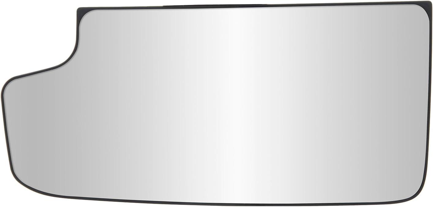 2nd design 3500 3500 Sierra 2500 Silverado 2500 Driver Side Non-heated Mirror Glass w//backing plate Chevrolet Silverado//GMC Sierra 1500 towing mirror bottom lens 3 11//16 x 7 15//16 x 8 3//8