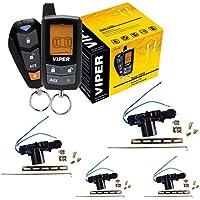 3305V DEI Viper 2 way Keyless Entry Security Alarm System With 4 Door Locks