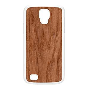 Unique Wood Grain Texture White Hard Plastic Case for Galaxy S4 Active by UltraCases + FREE Crystal Clear Screen Protector