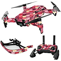 MightySkins Skin for DJI Mavic Air Drone - Pink Scales | Max Combo Protective, Durable, and Unique Vinyl Decal wrap cover | Easy To Apply, Remove, and Change Styles | Made in the USA