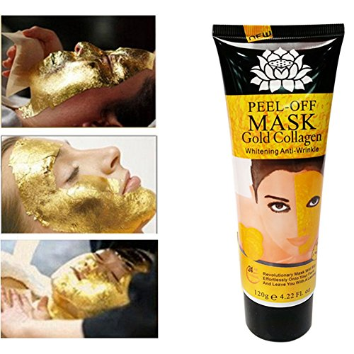 Golden Mask - Shouhengda 24K Golden Mask Peel Off Anti Wrinkle Anti Aging Facial Mask Face Care Whitening Face Masks Skin Care Face Lifting Firming Mask