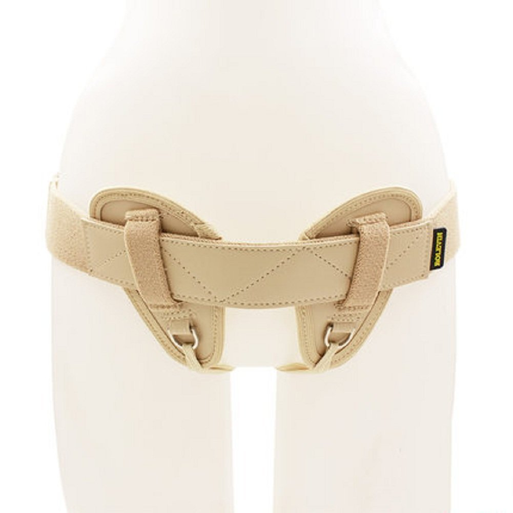Adjustable Male and Female inguinal Hernia Support Belt, Professional Medical Treatment for reducing Groin Rupture Double Truss Support Belt (B) by LXB
