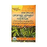 Uncle Lees Teas Imperial Organic Orange Ginger Rooibos Chai Tea, Orange Ginger 18 Bags by Uncle Lee'S Tea