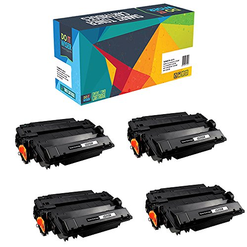 Do it Wiser Compatible CE255A HP 55A Toner for HP LaserJe...