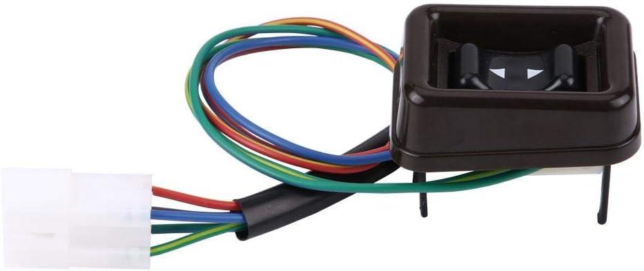 Suuonee Interrupteur de fen/être /électrique bouton de commutateur de commande de fen/être /électrique /à moteur /électrique de passager pour Land Cruiser 4Runner 84-90 84810-90A01-06