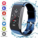 Fitness Tracker, Activity Tracker with Pedometer Blood Pressure Heart Rate Monitor IP68 Waterproof...