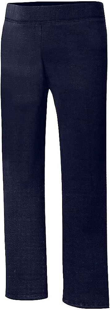 Hanes Girls ComfortSoft EcoSmart Open Bottom Fleece Sweatpant