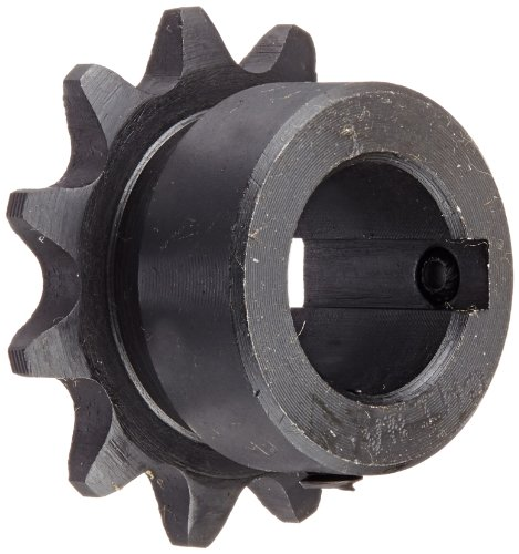 Tsubaki 35B11FJ Finished Bore Sprocket, Single Strand, Inch, #35 ANSI No., 3/8'' Pitch, 11 Teeth, 5/8'' Bore by Tsubaki