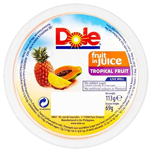 - Dole Tropical Fruit in Juice (113g)