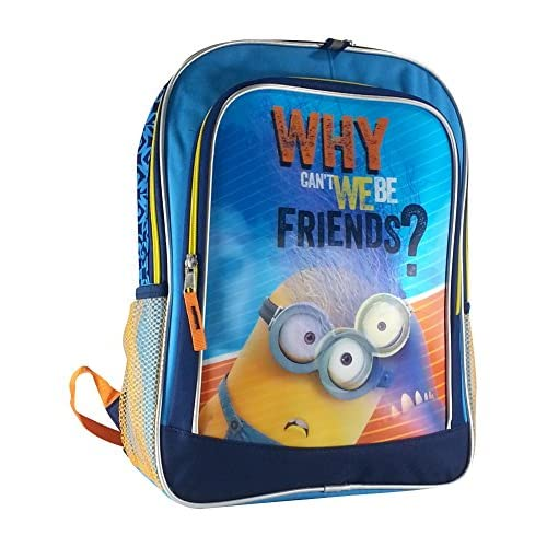 Despicable Me 2 Minion 3d Why Cant We Be Friends Backpack