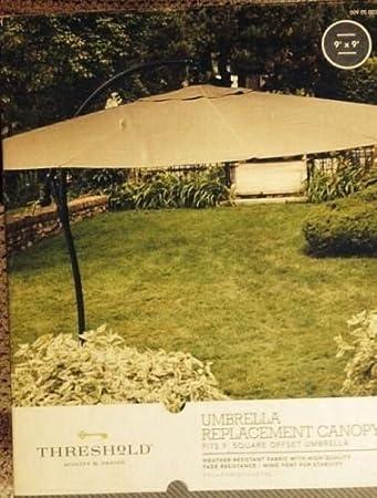 Threshold 9u0027 Umbrella Replacement Canopy & Amazon.com: Threshold 9u0027 Umbrella Replacement Canopy: Home Improvement