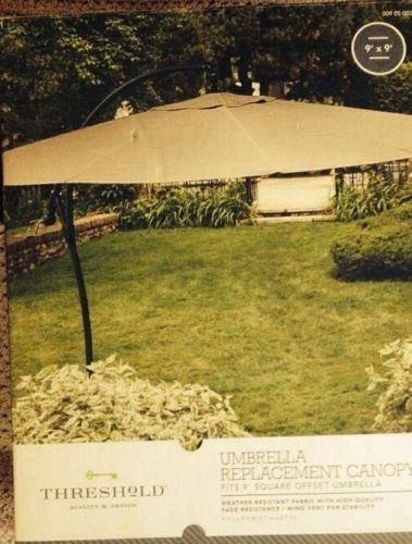 Threshold 9' Umbrella Replacement Canopy