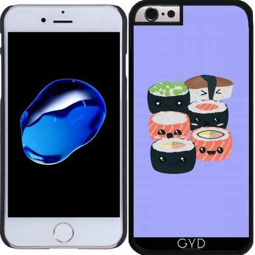 Coque pour Iphone 6 Plus (5,5'') - Ensemble De Sushi Drôle by ilovecotton